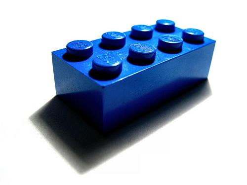 1 Blue Lego